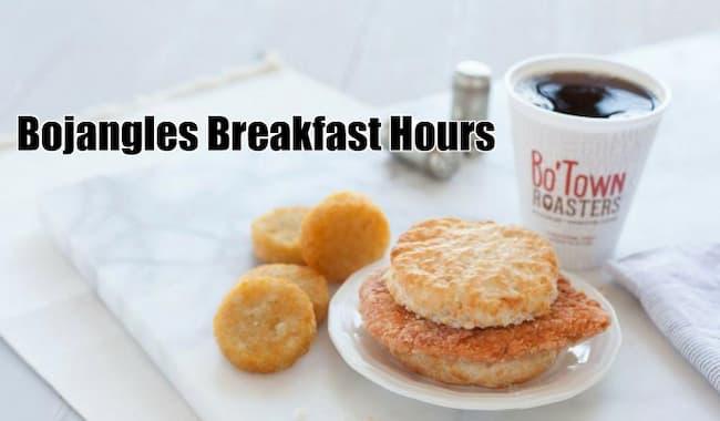 bojangles breakfast hours 2021