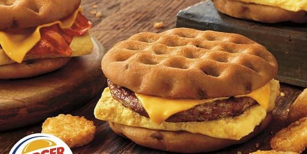 burger king breakfast menu hours