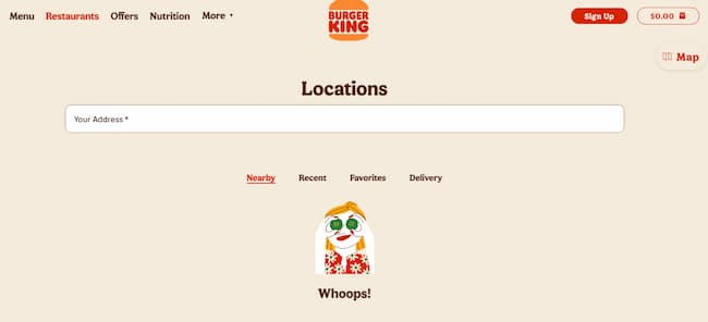Burger King Lunch Hours Menu