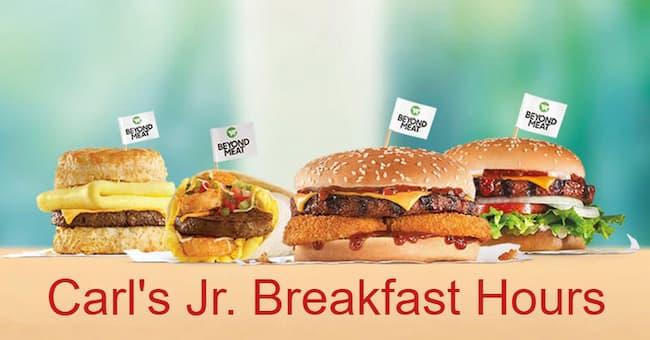 carl's jr breakfast hours