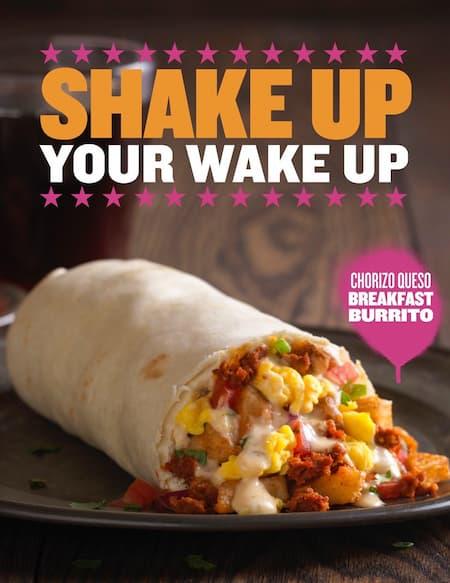 qdoba breakfast menu