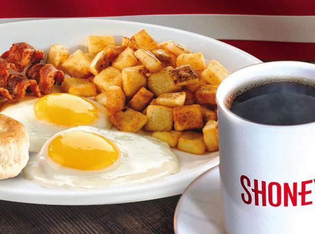 shoney's breakfast buffet hours