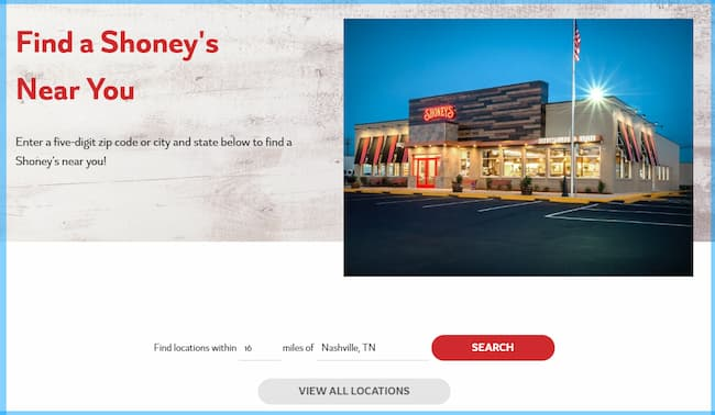 what are shoney's breakfast buffet hours