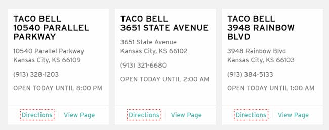 what are lunch hours at taco bell