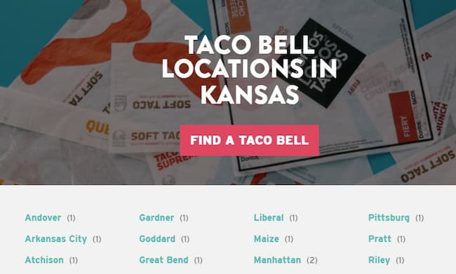 taco bell lunch hours near me