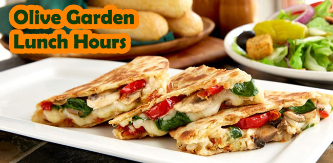 Olive Garden Lunch Hours