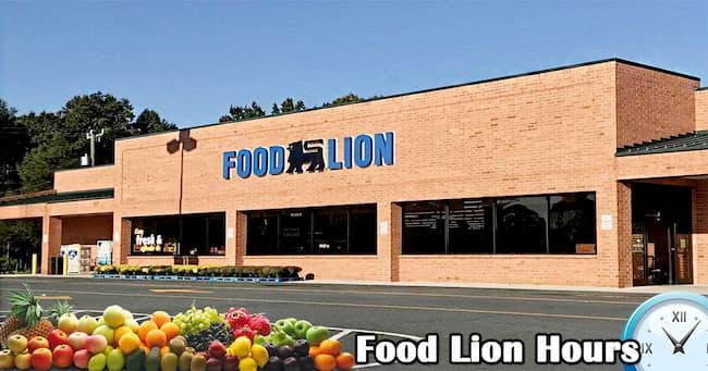 food lion hours