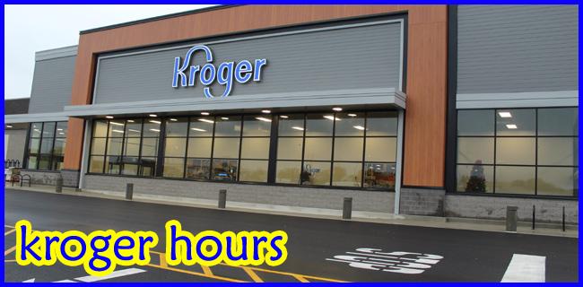 kroger hours