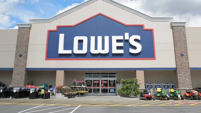 lowes hours today