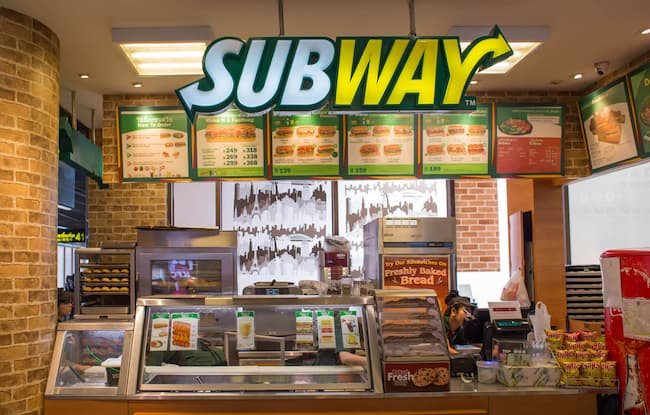 subway hours for lunch
