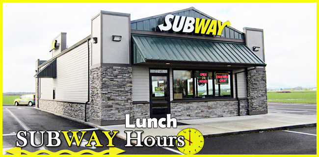 subway lunch hours