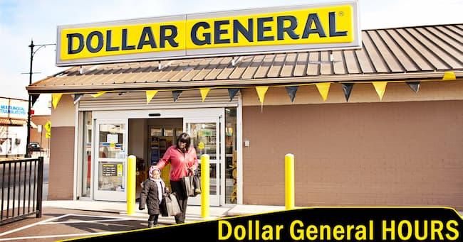 dollar general hours