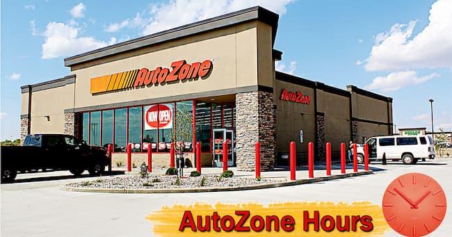 autozone hours