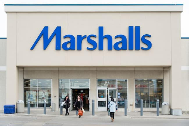 marshalls department store hours