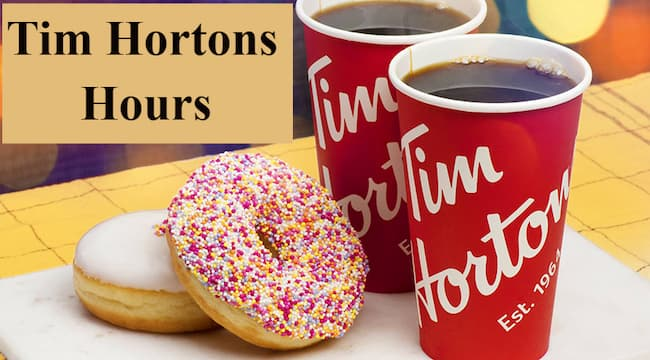 tim hortons hours