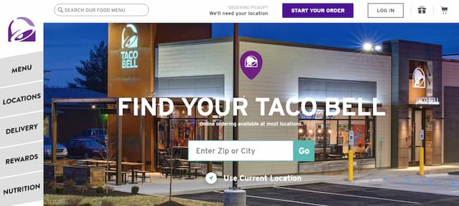 taco bell locations near me